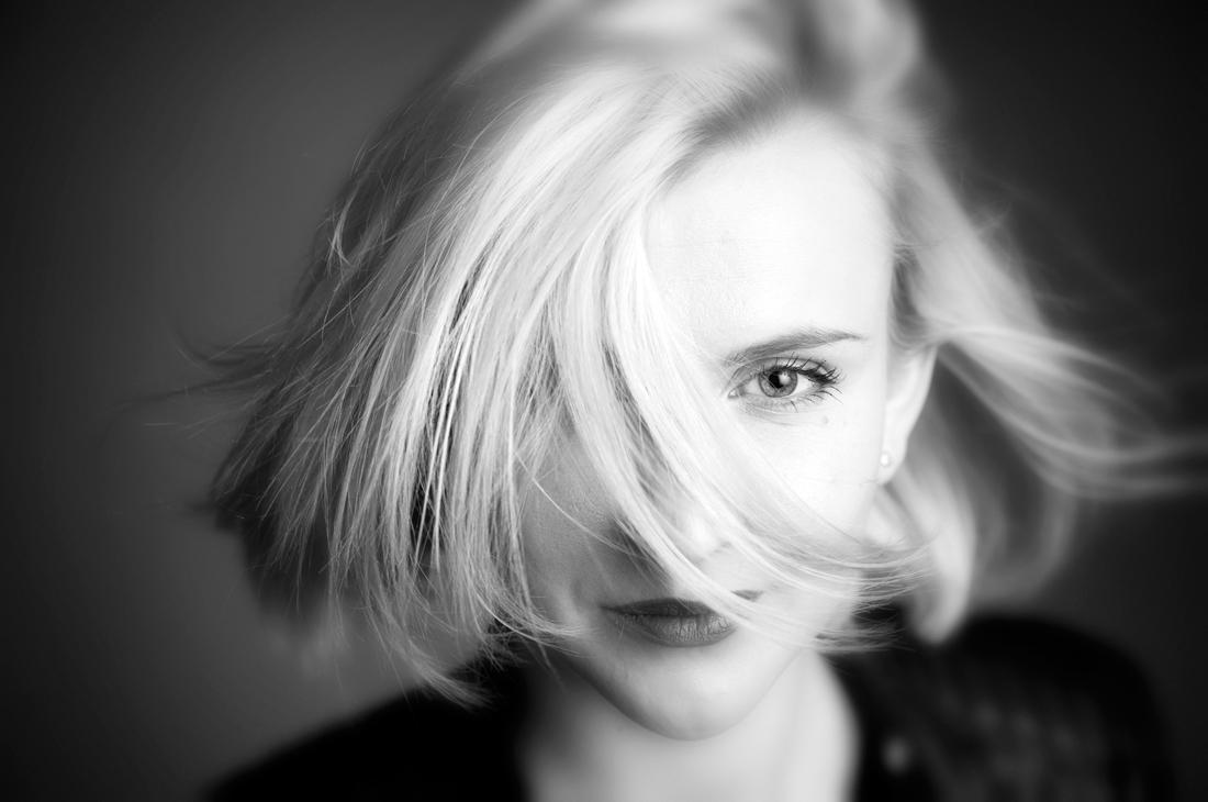 Frau, Portrait