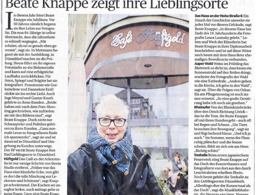 Ich – in der Rheinischen Post