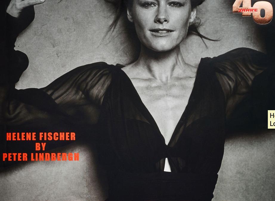 Peter Lindbergh – Helene Fischer – Vogue