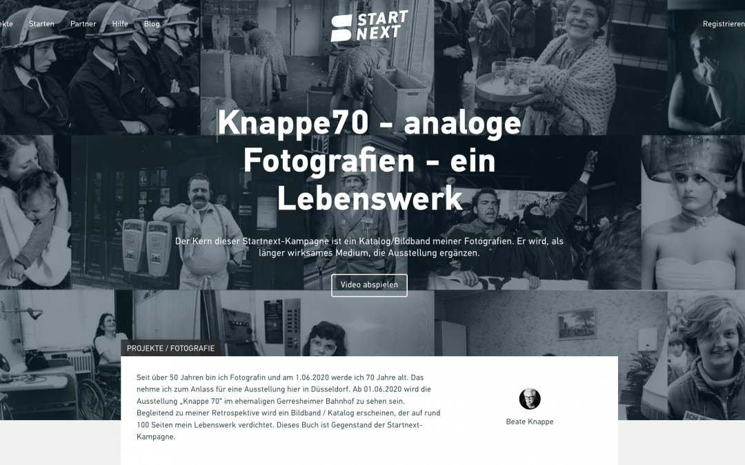 Interview: startnext BuchProjekt