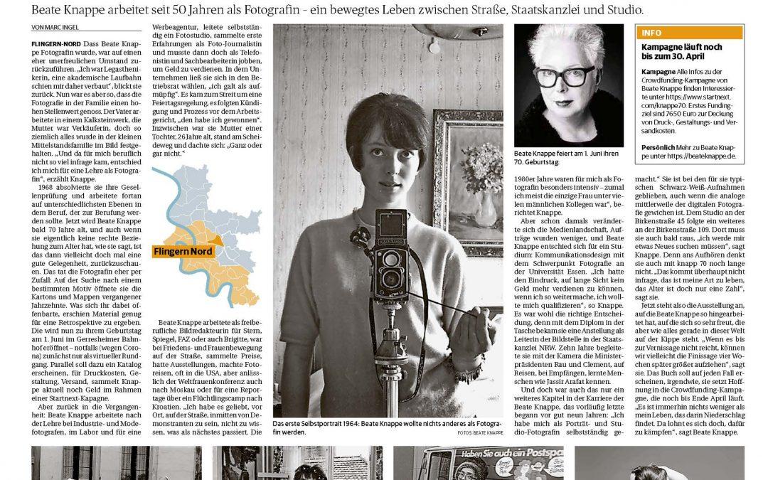 Artikel in der Rheinischen Post